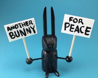 bunnies for peace!