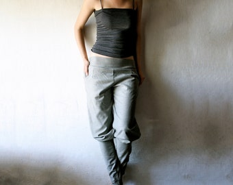 Pants, Wool pants, Womens pants, Jodhpur pants, Grey pants, Harem pants, Womens clothing, Wide pants, Grey wool pants, Handmade pants