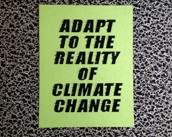 10 postcards adapt to climate change progressive policies political postcard