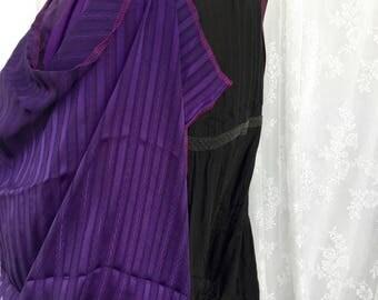 Purple steampunk bustle skirt - recycled tutu skirt - Burning desert Man festival skirt - steampunk utility bustle skirt - ren faire fairy