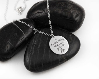 Given To Fly. Pearl Jam. Lyrics. Quotes. Typography. Music. Healing Stone. Eddie Vedder. Moonstone. 90s. Sterling Silver. Necklace.
