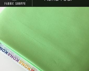 Kona cotton solid quilt fabric, Kona PEAR 145, Woodland Blanket Fabric, Quilt Backing, Kaufman, Woodland Nursery, Choose the cut