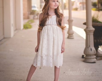 Juliet Floral Bloom Lace Dress, Flower Girl