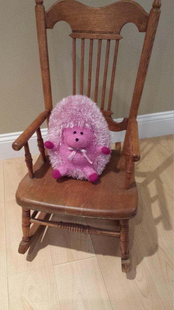 Sparkle Pink Hedgehog