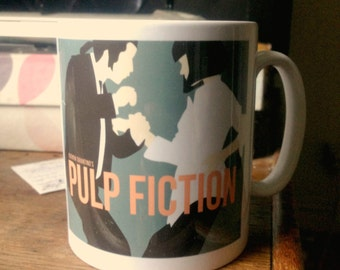 Pulp Fiction illustrated mug