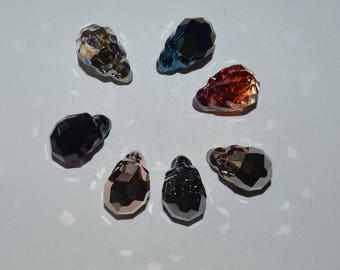 Large 19mm Swarovski Crystal Skull Beads, Many Colors, Skull Bead, Crystal, Make Skull Jewelry, Make Skull Suncatchers, Suncatcher, Skull