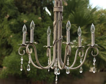 Shabby Cottage Chandelier