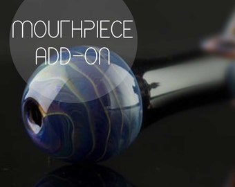 Add-on Color Mouthpiece Upgrade, YOU CHOOSE the COLOR, Made to Order