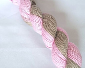 Hand Dyed Gradient DK Yarn 100% Merino Wool Yarn 8 Ply 'Adagio'