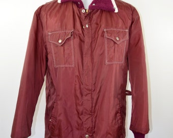on sale Vintage MIDWEST brand winter jacket Union made in USA Port Washington WI size large