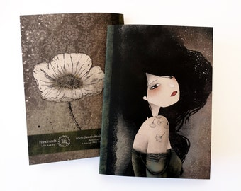 Lily - A5 Handmade Notebook