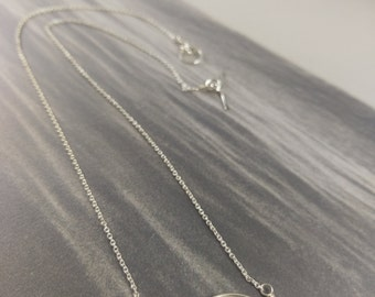 Metallic Freshwater Pearl Pod Necklace