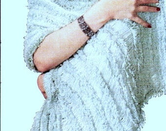 Riviera Hairpin Lace Shawl Crochet Pattern 725001