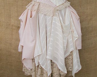 Dusky stripe dress