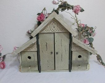 Birdhouse Cabinet Box Vintage Home Interior