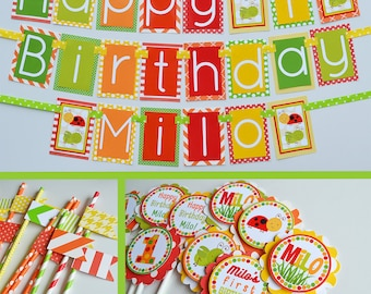 Bugs Birthday Party Decorations | Fully Assembled Decorations | Bug Theme Party | Bugs Party | Bug Party Ideas | Bug Birthday Banner | Buggy