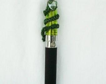 Ecig Electronic Cigarette Charm Green Snake