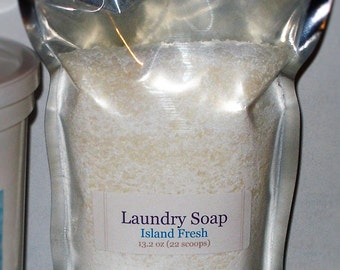 Laundry Soap - Baby Powder scented - 26.4 oz