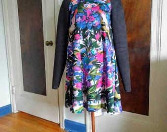 Sasha Swing Dress in 'photo floral' made to order