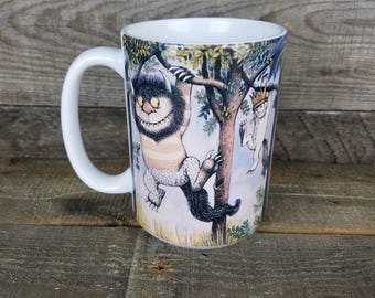 Wild Things Hang Out coffee Mug maurice sendak Gifts for Kids Book Lovers gifts for readers Gifts Under 15 book mugs Childrens Book Art max