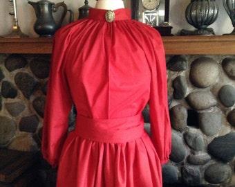 Victorian  Blouse Skirt and Sash Civil War Ladies Costume