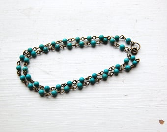Sea Of Cortez - A Turquoise Necklace