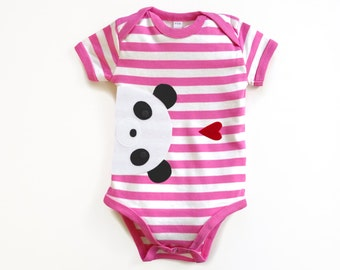 Baby Panda Bodysuit : Baby Girl, Baby Girl Shower