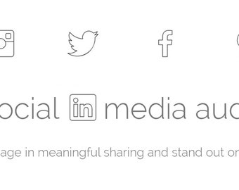 Social media audit and report for small businesses and growing blogs