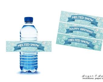Frozen water bottle | Etsy