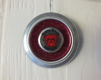 Red Dog Beer Ornament