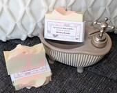 Savon à la soie Baiser sucré, handmade, fait main, silk soap
