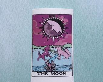 Tarot The Moon Sticker