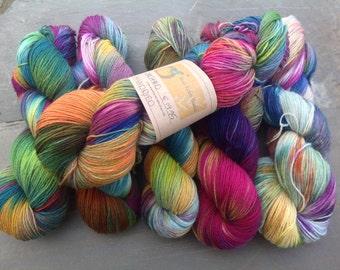 ORCHARD - hand dyed sock yarn