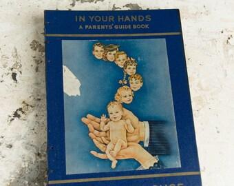 1951 PARENT'S GUIDE Vintage Scrapbook Notebook