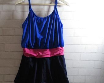 Vintage Swimsuit, Large, XLarge