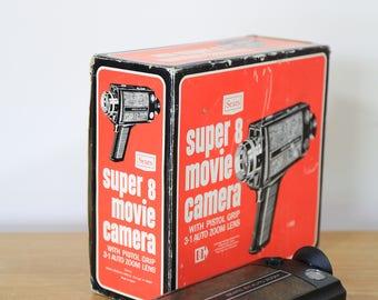 Sears 3/1 Super 8 mm Movie Camera in Box - AGS