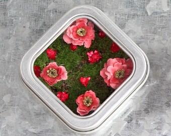 Wedding Favor Magnet, Nature-Themed Wedding Favor, Nature Magnet, Fairy garden magnet, bridal party gift, Spring Kitchen decor