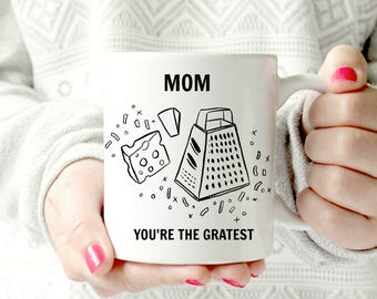 World's greatest mom mug. Mother's Day gift,  Mothers Day Mug, cheesy mug.