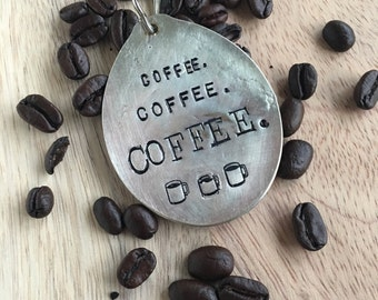 Coffee, Coffee, Coffee Key Chain