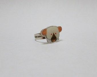 Fancy Rat Dumbo Siamese Rat Ring Pet Rat Jewellery