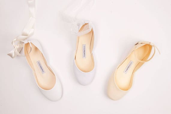 The Wedding Shoes Bridal Ballet Flats Wedding Flats for