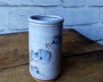Hand Thrown Vase Icelandic Studio Pottery