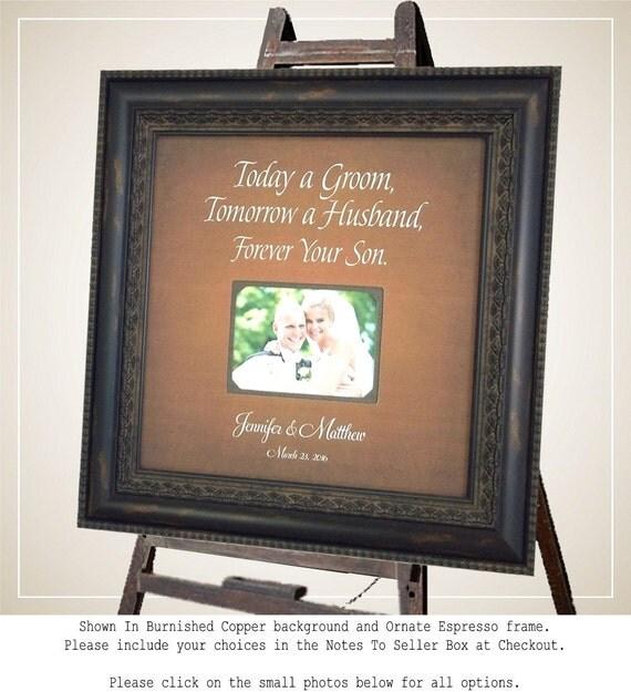Wedding Gift For Parents, Bride, Groom, Mother, Father, Shower ...