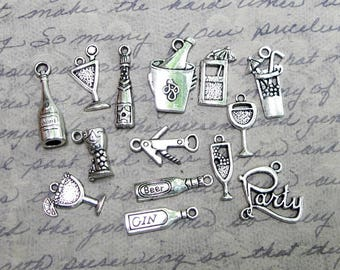 Wine and Cocktail Charms Collection - C2561