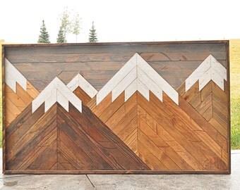 Wood Mountain Scene