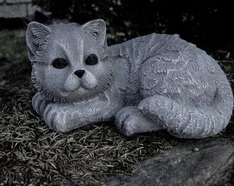 Cat Statue, Concrete Cat Statues, Concrete Statues Of Cats, Garden Cats, Cat