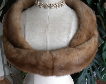 Beautiful mink fur stole / wrap / wedding