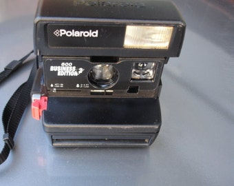 Vintage Polaroid 600 Business Edition- See our entire collection of Polaroid Cameras