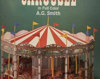 Cut and assemble paper carousel, Dover publication, 1985