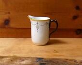 Shelley Art Deco Milk Jug Pattern 11140 1920's ('24-'26)